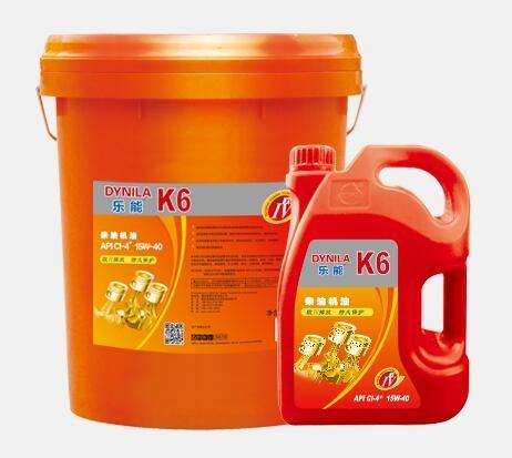乐能高性能柴油机油K6